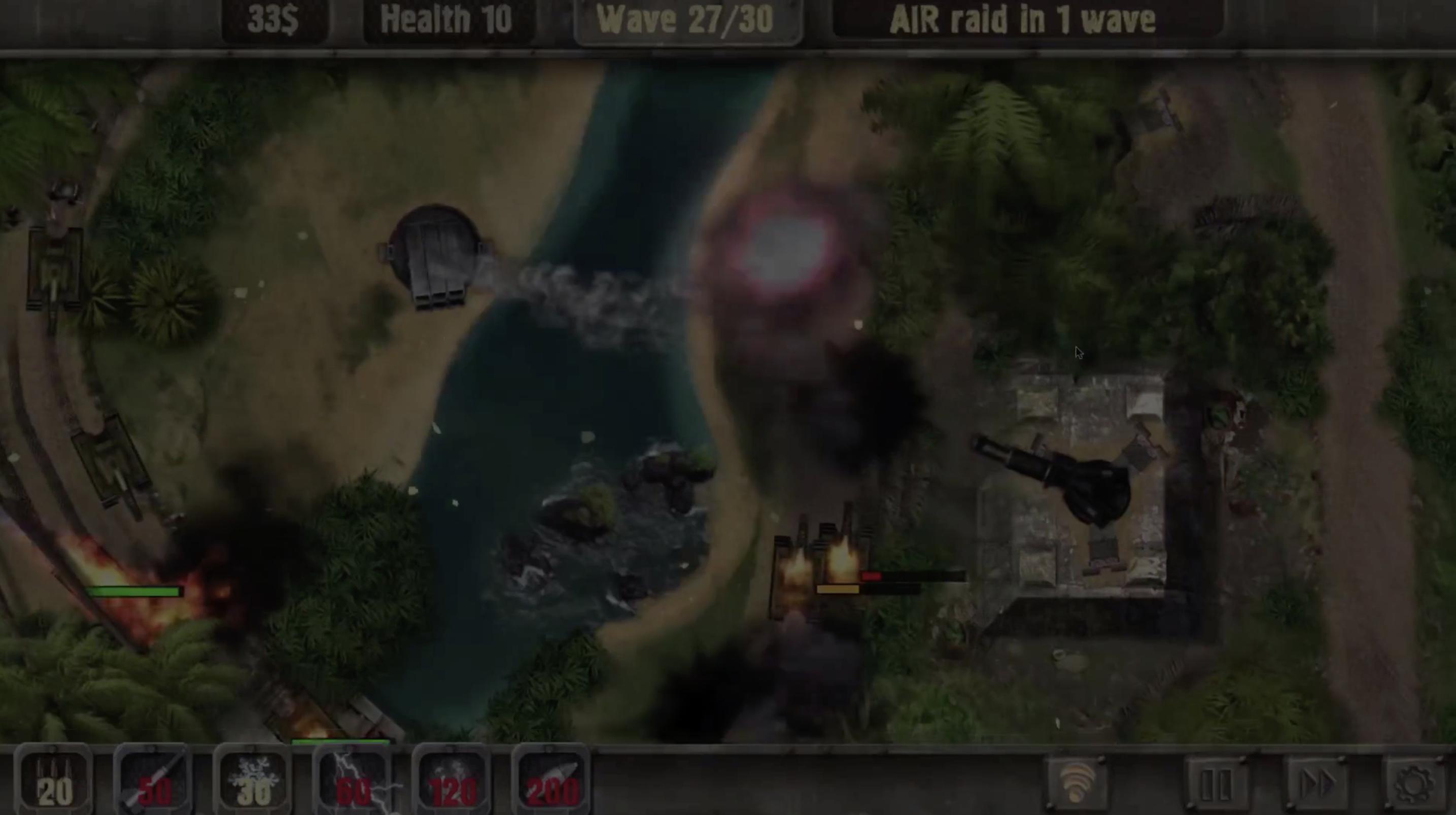 defense zone 2 cheats